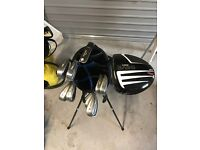 Set of Golf Clubs incl Bag & Trolley