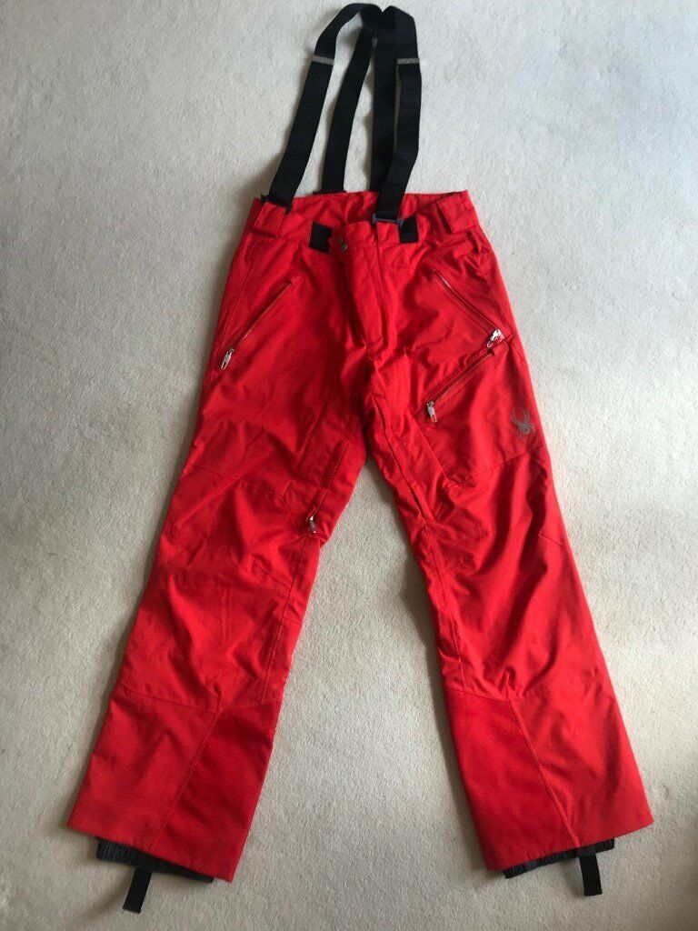 Mouse over image to zoom GENUINE SYPDER SALOPETTES_TROUSERS_PANTS_MED_EXCELLENT COND.!!