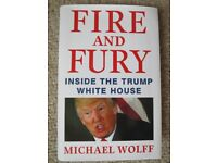 "BRAND NEW ""Fire and Fury"" book about Donald Trump"
