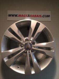 Mags 17 '' Mercedes HIVER  **disponible avec pneus**  225/45/17 225/50/17 245/45/17 235/55/17