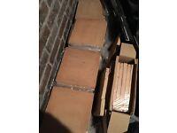 Fired Earth Terracotta Tiles New - 35 Handmade Classic tiles - 30x30