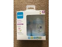 NEW Blue MAM Anti-Colic 160ml Bottle - 2 Pack