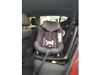 Maxi Cosi Axxis Fix I size swivel car seat baby toddler
