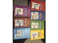 First 7 diary of a wimpy kid books