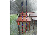 Dynastar Skis with Rossignol bindings, Scott ski poles & bag - only used twice
