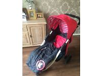 Koochi pushmatic stroller suitable from birth