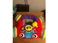 New Baby play mat with stealing wheel , mirror