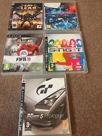 PlayStation 3 games bundle, FIFA, Gran Turismo