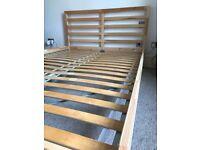 Ikea TARVA standard double bed frame