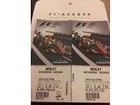 2017 Hungarian Grand Prix 3 Day Tickets - 2 Adults & 2 Children