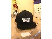 Vans - Full Patch SnapBack Hat - True Black (BRAND NEW)