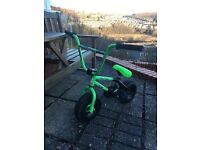 MINI BMX ROCKER - MINI MAIN GREEN AND BLACK