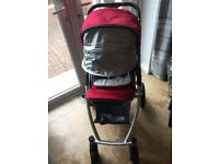 **REDUCED NOW 175.00** Uppababy Vista 2014 Pushchair and Bassinet with extra's **REDUCED**