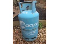 Butane gas bottle, 13 Kg, full