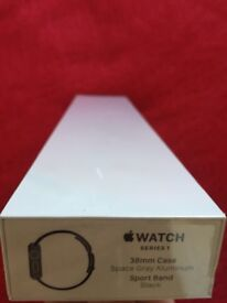 Apple iwatch 38mm strap in space grey, brand new unopened.