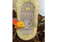 Baby bouncer safety first from birth catepillar