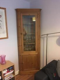 Solid pine corner unit £80
