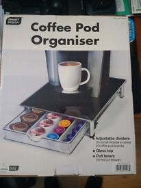 Coffee Machine Pod Organiser