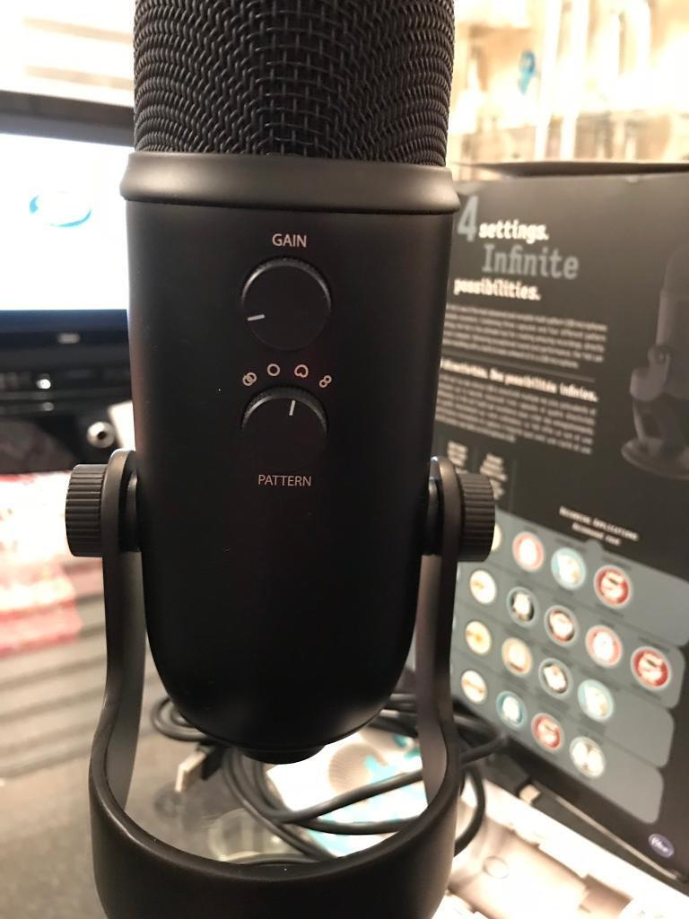 BLUE YETI MICROPHONE FOR SALE   in Didcot, Oxfordshire   Gumtree