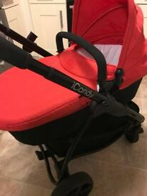 ICandy Strawberry 2 pram/pushchair