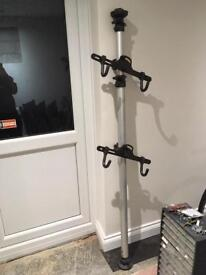 2 bike floor to ceiling cycle rack