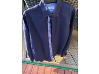 Royal Blue Smart Shirt Zara size L