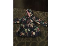 2-3 years girls raincoat