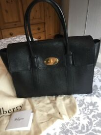Mulberry Bayswater Bag Black new style