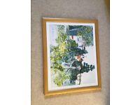 Professionally framed art print by Raoul Dufy