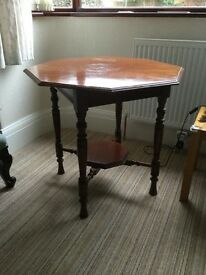 Mahogany Antique occasional table