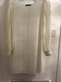 Cream dress 14