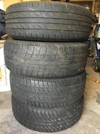 Seat Ibiza 195x 60x15 wheel and tyre
