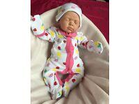 Stunning, lifelike baby girl for sale