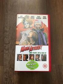 Very rare Mars Attacks VHS