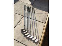 Golf clubs (Titliest irons)