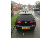 2005 SEAT IBIZA 1.4 TDI 3 DR BLACK *PERFECT LOTTKE RUN AROUND* * CLIO*POLO*LUPO*
