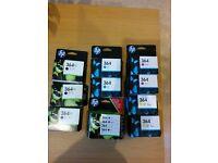 HP364 Photosmart Ink cartridges f