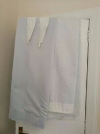 Ikea Blekviva curtains - white/cream ( matching blackout and pole available)