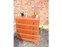 1920s-1930s CHEST OF DRAWERS FREE DELIVERY GENUINE 🇬🇧project