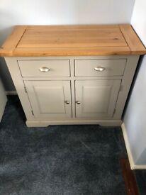 Grey/wood sideboard
