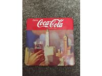 COLLECTIBLE COCA COLA COASTERS RARE - ( IN EXCELLENT CONDITION)