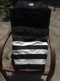Babystyle cosy toes/foot muff for Oyster pram - 2 available