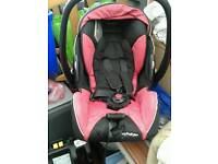 Recaro Young Profi Plus baby car seat with isofix base