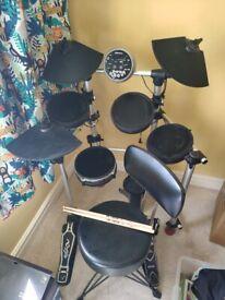Millennium hd 100 electric drum kit