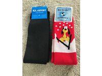 Brand New Twin Set Ski Socks One Size