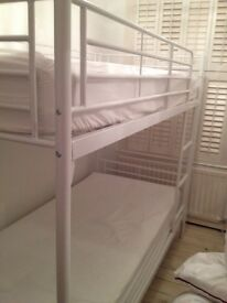 Bunk Bed and mattresses for sale