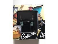 Wine Bottles Cufflinks - Gift Boxed Birthday Christmas for bartender wine connoisseur NEW