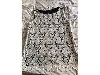 Two lacy new look tops size 10