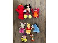Disney soft toys and other soft toys