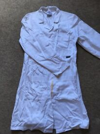 Lab coat women's XS and lab goggles